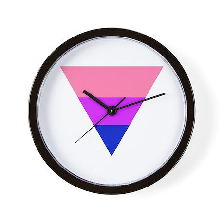 bi triangle Wall Clock