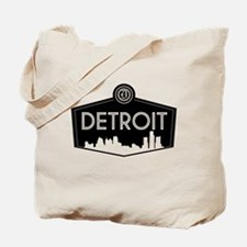 Retro Detroit Tote Bag