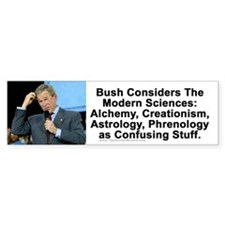 Bush Confuddled Bumper Bumper Sticker