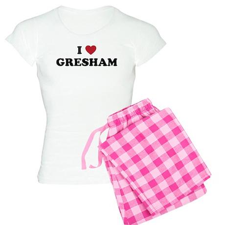 I Love Gresham Oregon Women's Light Pajamas