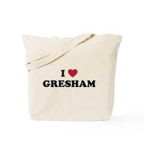 I Love Gresham Oregon Tote Bag