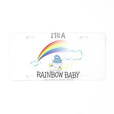 RAINBOW boy.png Aluminum License Plate