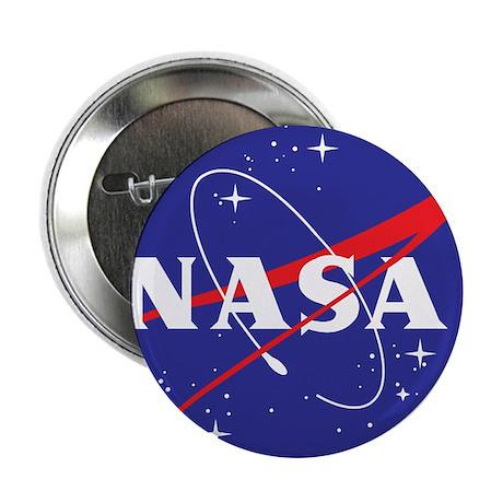 """NASA Logo 2.25"""" Button"""