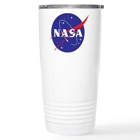 NASA Logo Stainless Steel Travel Mug