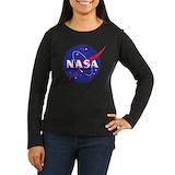 Nasa Long Sleeve T Shirts