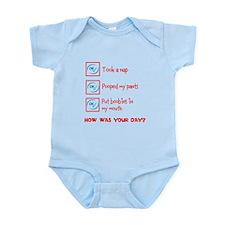 Funny Baby Daily Checklist Infant Bodysuit