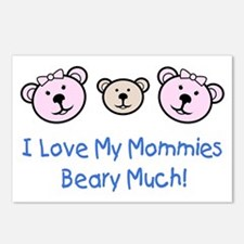 I Love My Mommies.. Postcards (Package of 8)