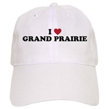 I Love Grand Prairie Texas Baseball Cap