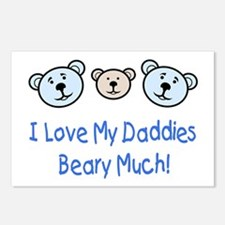 I Love My Daddies.. Postcards (Package of 8)