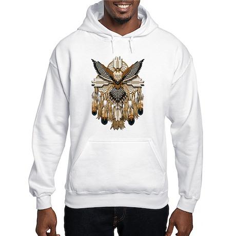 Aplomado Falcon Dreamcatcher Hooded Sweatshirt