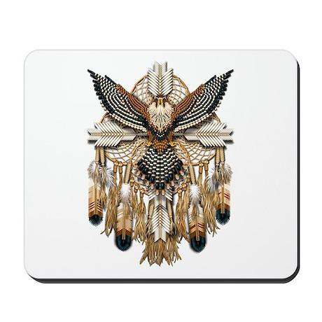Aplomado Falcon Dreamcatcher Mousepad