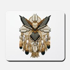 Aplomado Falcon Dreamcatcher Mousepad