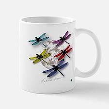 Dragonflies Around Some Planet Mug