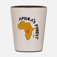 Congo Africa's finest Shot Glass