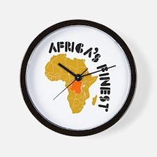 Congo Africa's finest Wall Clock