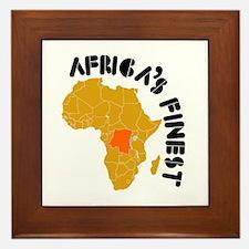 Congo Africa's finest Framed Tile