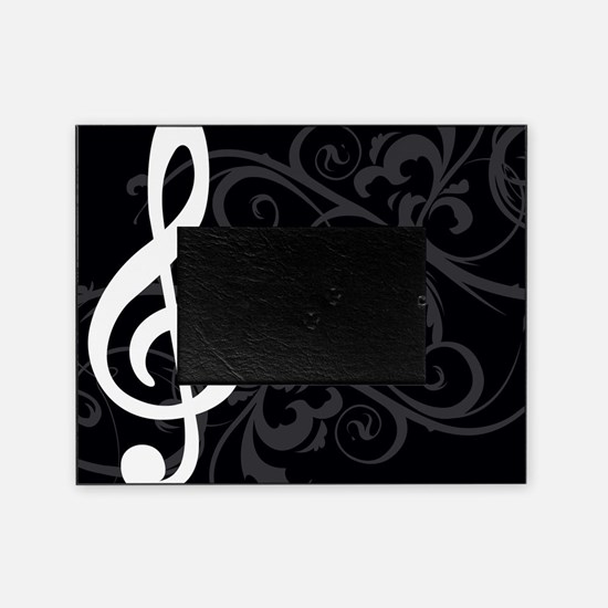 Music Treble Clef Picture Frame