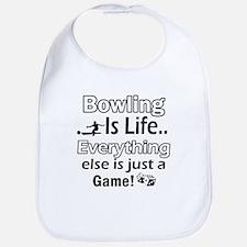 Bowling Is Life Bib