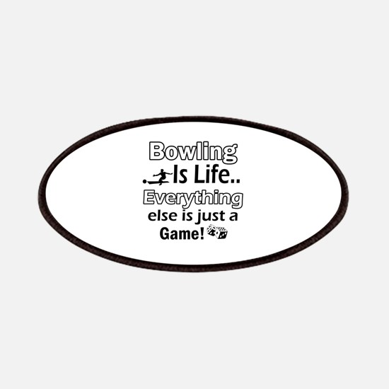 Bowling Is Life Patches
