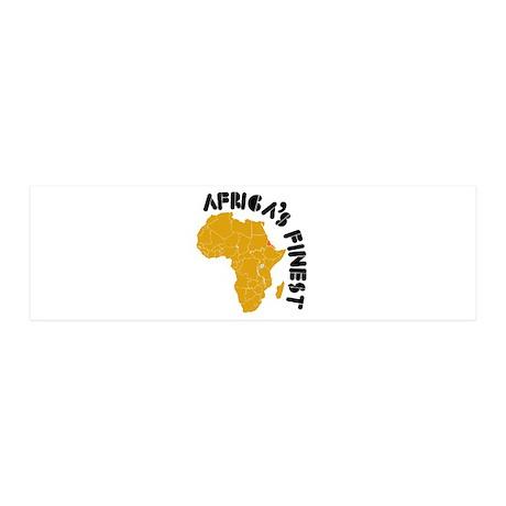 Eritrea Africa's finest 42x14 Wall Peel