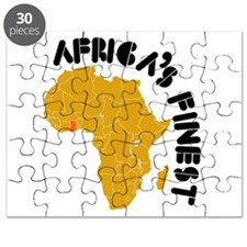 Ghana Africa's finest Puzzle