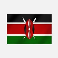 Flag of Kenya Rectangle Magnet