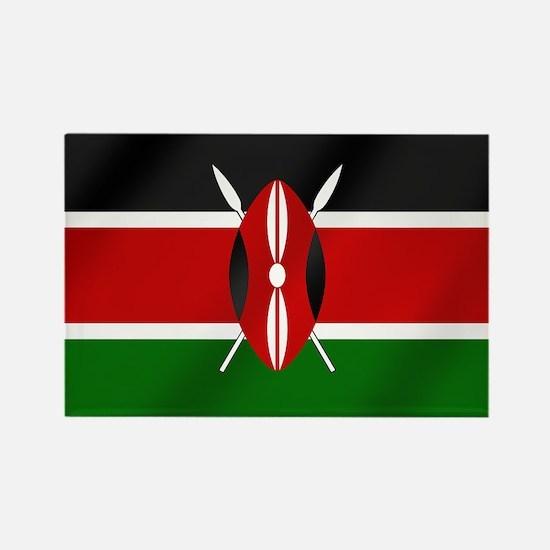 Flag of Kenya Rectangle Magnet