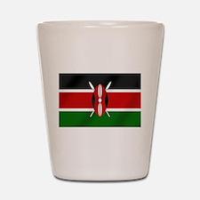 Flag of Kenya Shot Glass