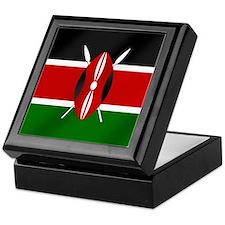 Flag of Kenya Keepsake Box