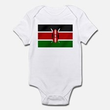 Flag of Kenya Infant Bodysuit