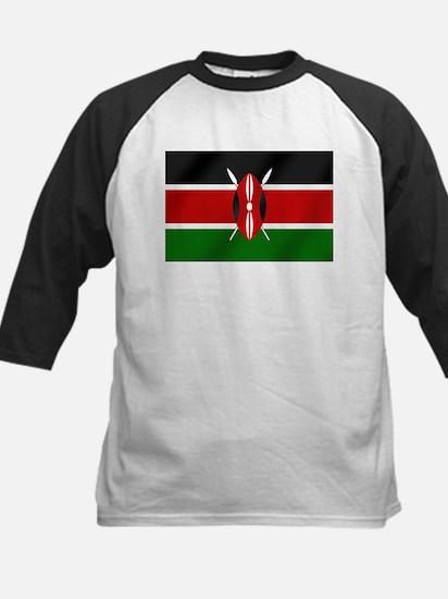Flag of Kenya Kids Baseball Jersey