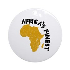 Lesotho Africa's finest Ornament (Round)