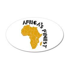Liberia Africa's finest 22x14 Oval Wall Peel
