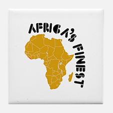 Liberia Africa's finest Tile Coaster