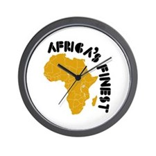 Liberia Africa's finest Wall Clock