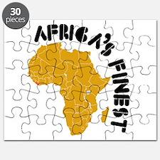 Liberia Africa's finest Puzzle