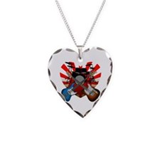 Power trio5 Necklace Heart Charm