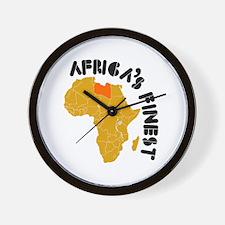Libya Africa's finest Wall Clock