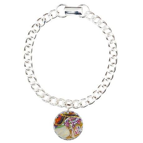 Klimt Charm Bracelet, One Charm