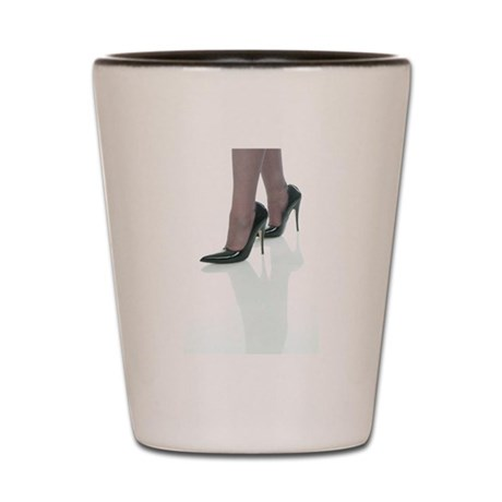Vinylqueen's High Heel Shot Glass