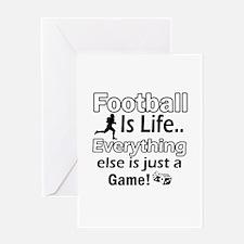 American Football Is Life Greeting Card