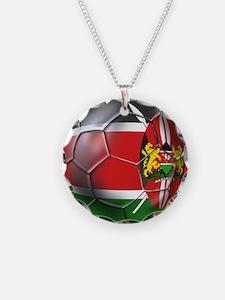 Kenya Football Necklace
