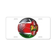 Kenya Football Aluminum License Plate
