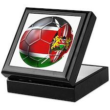 Kenya Football Keepsake Box