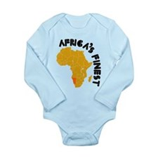 Namibia Africa's finest Long Sleeve Infant Bodysui