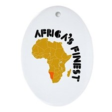 Namibia Africa's finest Ornament (Oval)