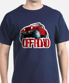 Red 4X4 off-roader T-Shirt