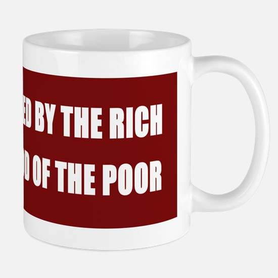 War Are Waged By the Rich Mug