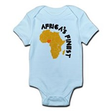 Nigeria Africa's finest Infant Bodysuit
