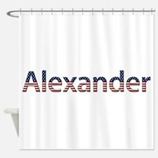 Alexander Stars and Stripes Shower Curtain